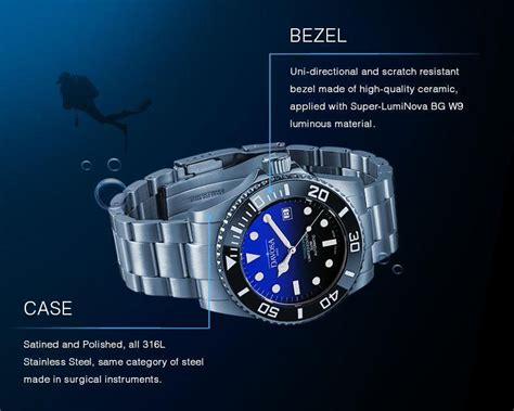 Davosa Ternos Pro USA Diver Automatic Faded Blue Limited