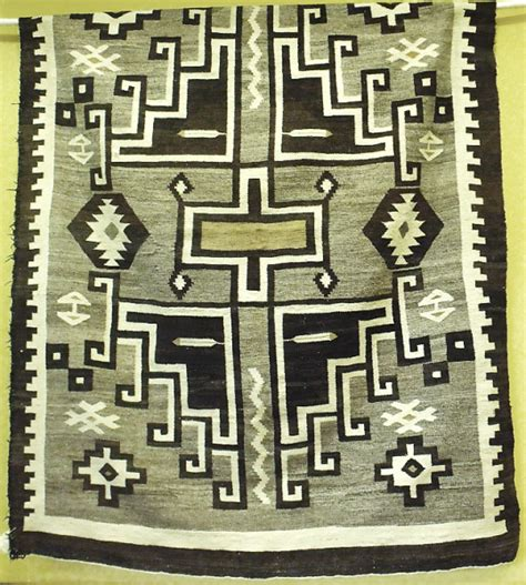 Traditional Navajo (Diné) Rugs, Researched by Natha