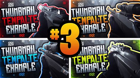 Valorant YouTube Thumbnail Template Pack #3 - Gameplay