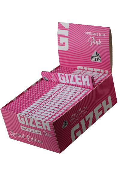 my420gadgets - GIZEH Papers 'King Size Pink' LIMITED EDITION
