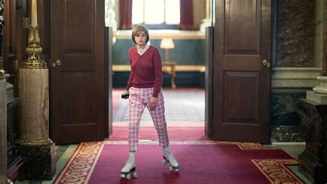 'The Crown': Did Princess Diana Really Roller-Skate