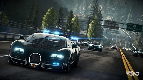 Need for Speed Rivals Bugatti Cop Car Wallpapers | HD