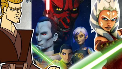 Star Wars: Ranking Every Animated Series From Worst To