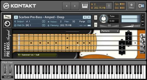 KVR: Scarbee Pre-Bass by Native Instruments - Bass Module