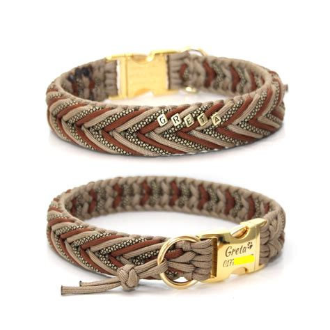 Paracord Halsband   Cookie & Friends