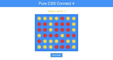 How the Roman Empire Made Pure CSS Connect 4 Possible