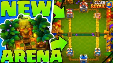 NEW' JUNGLE ARENA 9 GAMEPLAY - Clash Royale - YouTube